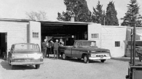 Open for business in May 1961